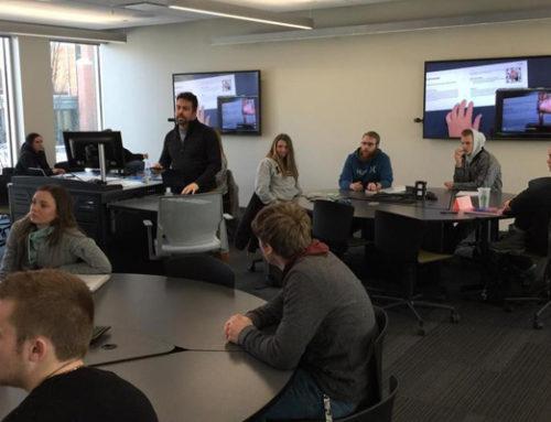 Profesor Cristian Merino visita el Departamento de Currículo e Instrucción de la Universidad de Idaho y para presentar SPECTO